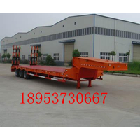 12米重型平板拖车