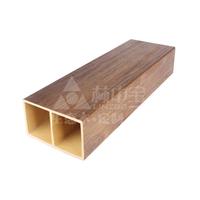 厂家直销生态木塑 覆膜方木 造型天花