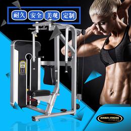 专业生产健身房直臂夹胸训练器  商用健身器材