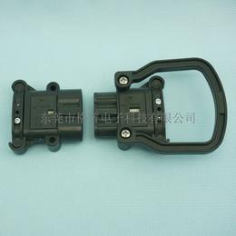 80A150V叉车电池充电插头林德电源连接器公插母插件
