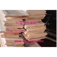 上海木屋村红雪松外墙板