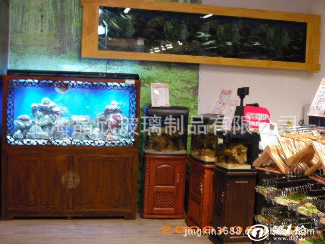 白色喷漆欧式工艺实木鱼缸,水族箱,生态鱼缸,订做亚克力鱼缸