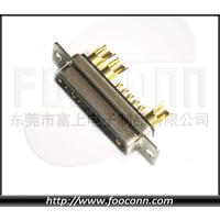 供应直销 D-SUB大电流连接器13W3 3粗10细 焊接式