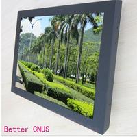 17寸触摸监视器 嵌入式BNC触屏监视器 操作台用液晶显示器