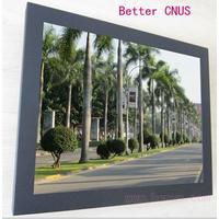 19寸BNC触屏监控显示器 19寸工业触摸屏监视器