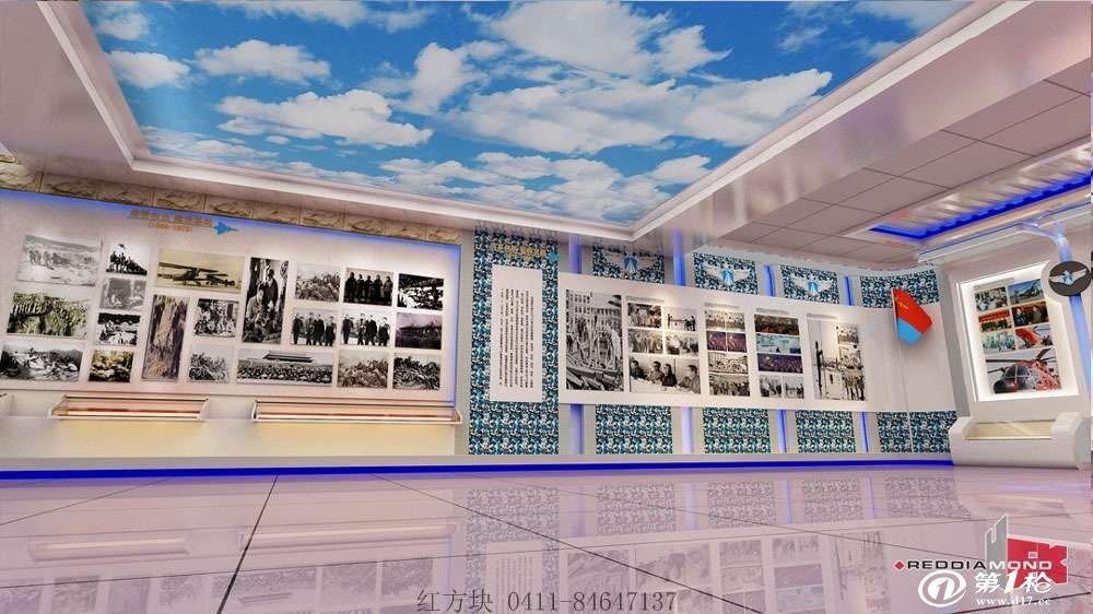 基层文化长廊设计效果图