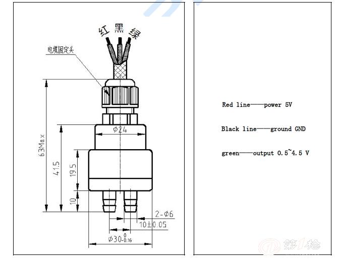 安培龙微压差压力传感器-优质陶瓷电容式压力传感器  安培龙微压差压力传感器产品简述: ACCP系列陶瓷电容压力传感器是AMPRON公司采用陶瓷材料经特殊工艺精制而成的干式陶瓷电容压力传感器,陶瓷 是一种公认的高弹性、抗腐蚀、抗磨损、抗冲击和振动的材料。陶瓷的热稳定特性可以使它的工作温度范围高达-40~135,而且具有测量的高精度、高稳 定性。 其抗过载能力最 高可达量程100倍,彻底解决了其他类型传感器在小量程时过载能力差的缺点,它除具有一般传感器的量程外,其最具特色的是它的正负表压功能, 如:10k