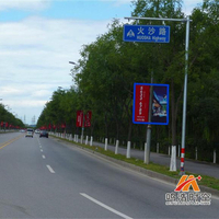 京承高速后沙峪泗上出口火沙路至罗马湖环岛道旗发布缩略图