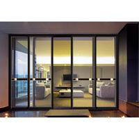 恒达美玻璃拼格门 定制各种风格整体移门