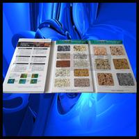 多彩漆色卡 多彩漆样板册 水包水多彩漆色卡