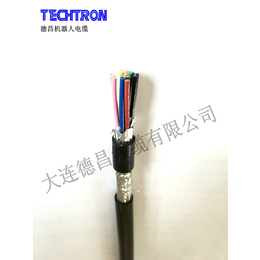 德昌线缆高柔动力拖链电缆无屏蔽KPUR