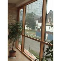 铝包木窗节能环保铝包木窗