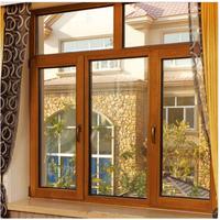 铝包木窗 隔音平开门门窗