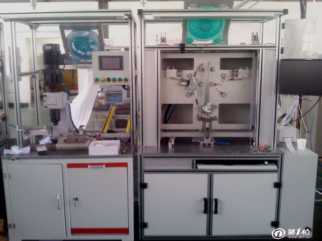 汽车玻璃升降器在线性能试验台
