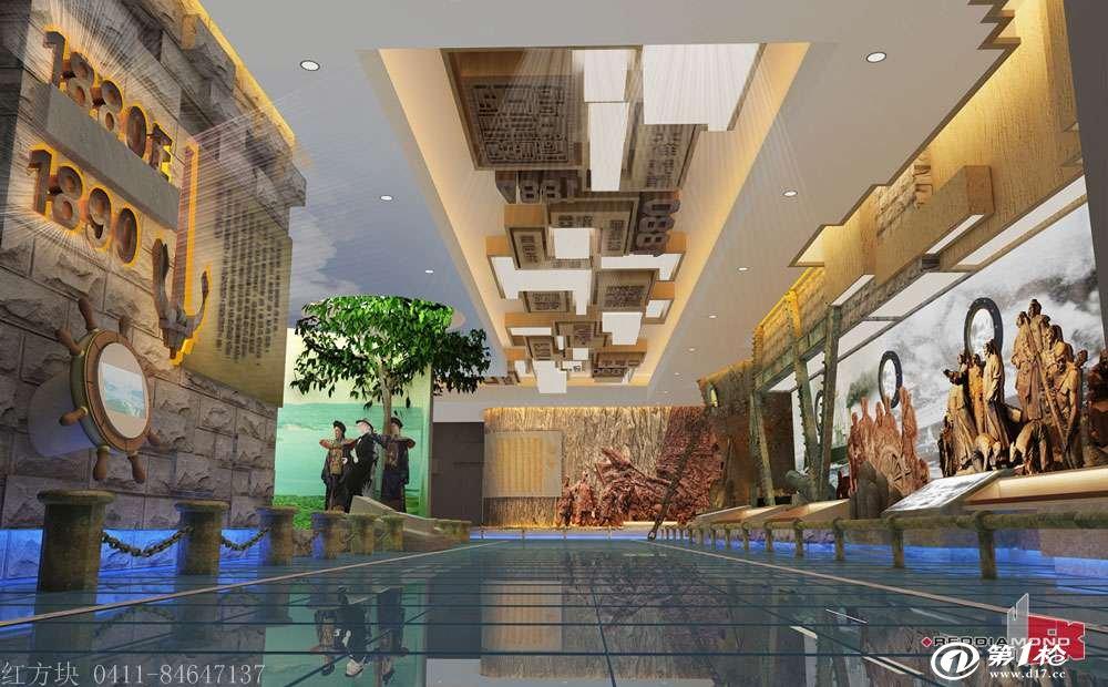 基层党建文化建设展示内容教育基地设计效果图