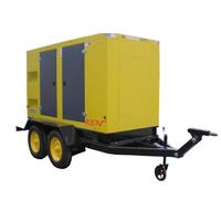 康明斯移动式电站 功率550kw 拖车式电站