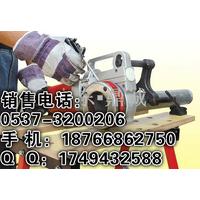 湖南湘潭新型1寸手持式电动套丝机 轻便实用 成本低工效高