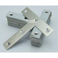 晶钢门橱柜不锈钢角码配件F1型