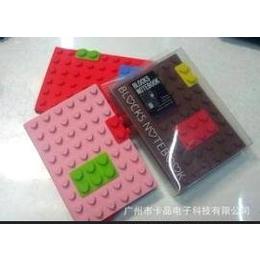 LEGO笔记本(心形) 硅胶笔记本 新奇特笔记本