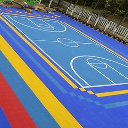 衡水批发各种运动场地拼装地板 PP地板
