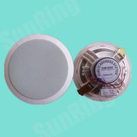 深圳三灵电子供应同轴高音塑料吸顶广播喇叭SL-T-106G
