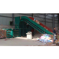 郴州协力160压力废纸箱打包机