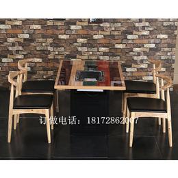 下沉式嵌入式无烟环保电动火锅桌特价订做厂家直销