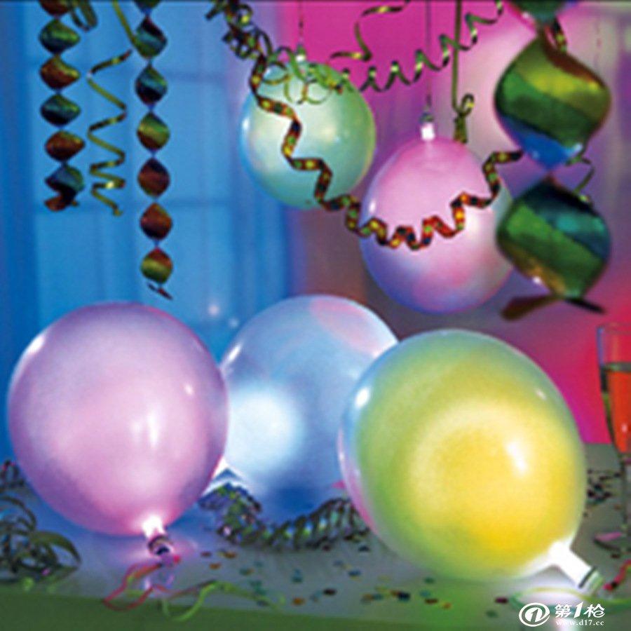 气球用绳连接方法图解