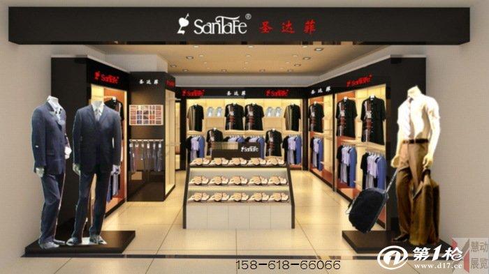 供应服装展示柜,服装展示架,专卖店货柜制作