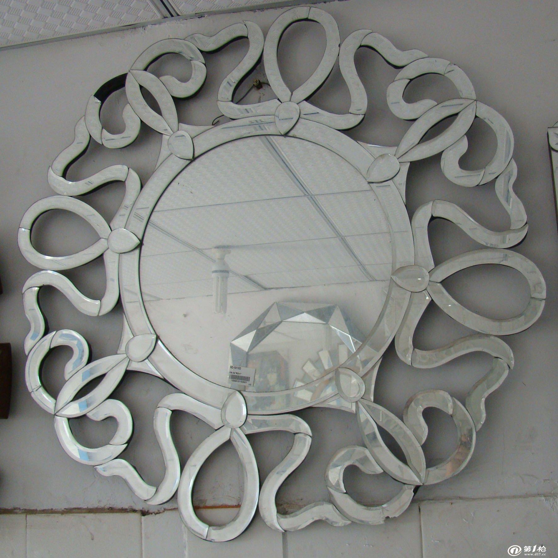 玻璃壁挂 玻璃工艺品 异型镜子壁挂 欧式壁挂 glass wall art