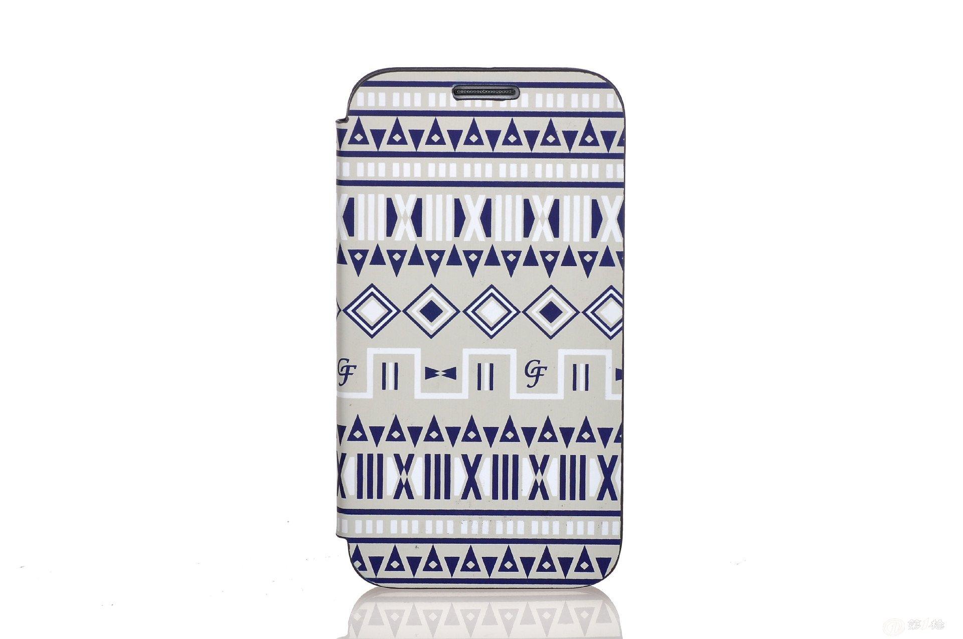 case face时尚款韩版手机套三星galaxy s4民族印第安花纹手机皮套