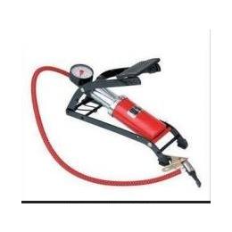 高压脚踩打气筒 汽车车载打气泵便携式打气机摩托车电瓶车充气泵