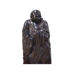 古沉木雕刻艺术JXLYQ00076 笑佛缩略图
