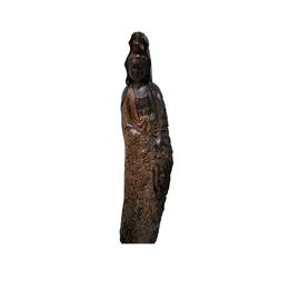古沉木雕刻艺术JXLYQ00091观音