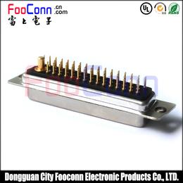 富上电子 DSUB大电流 47W1 1粗46细 180度插板