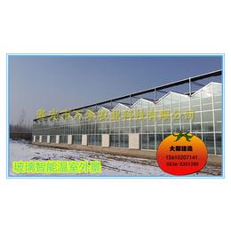 供应玻璃智能温室-寿光市万禾农业