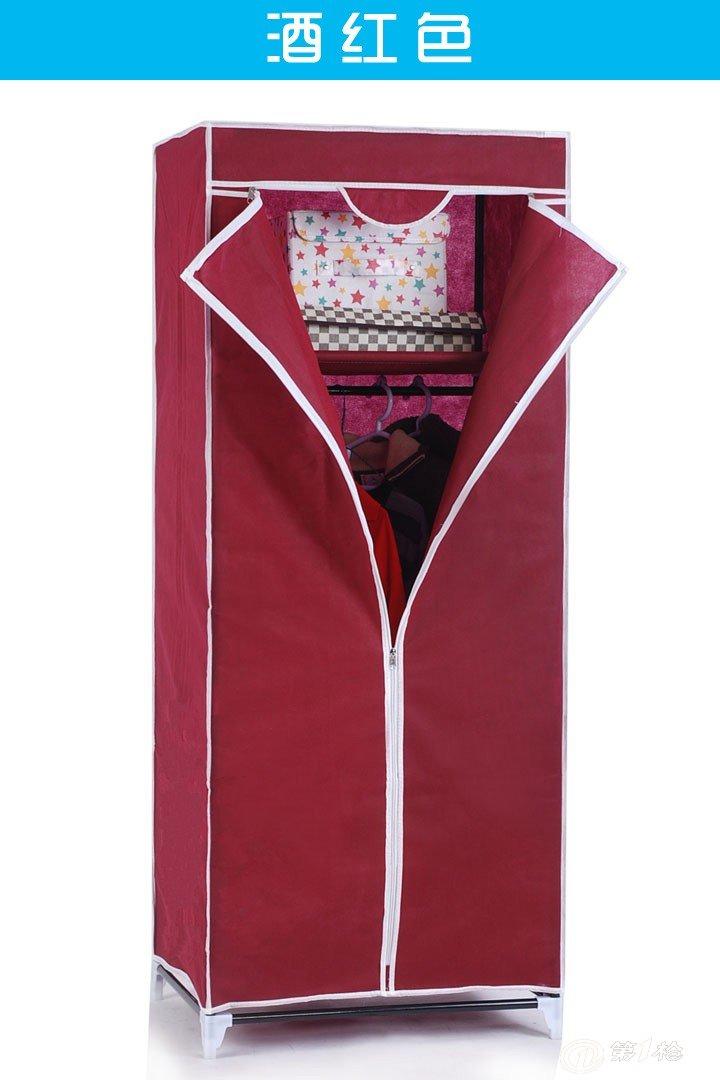 韩式无纺布新款简易小衣柜