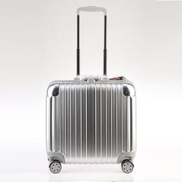 骏仕新款铝框电脑包拉杆箱17寸登机超静音耐磨万向轮男女流行