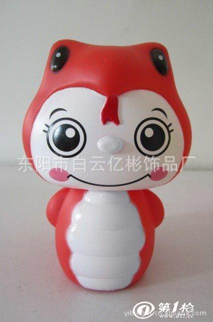 小号储蓄罐 蛇年吉祥物 蛇宝宝卡通储钱罐 广告促销礼品 可印logo