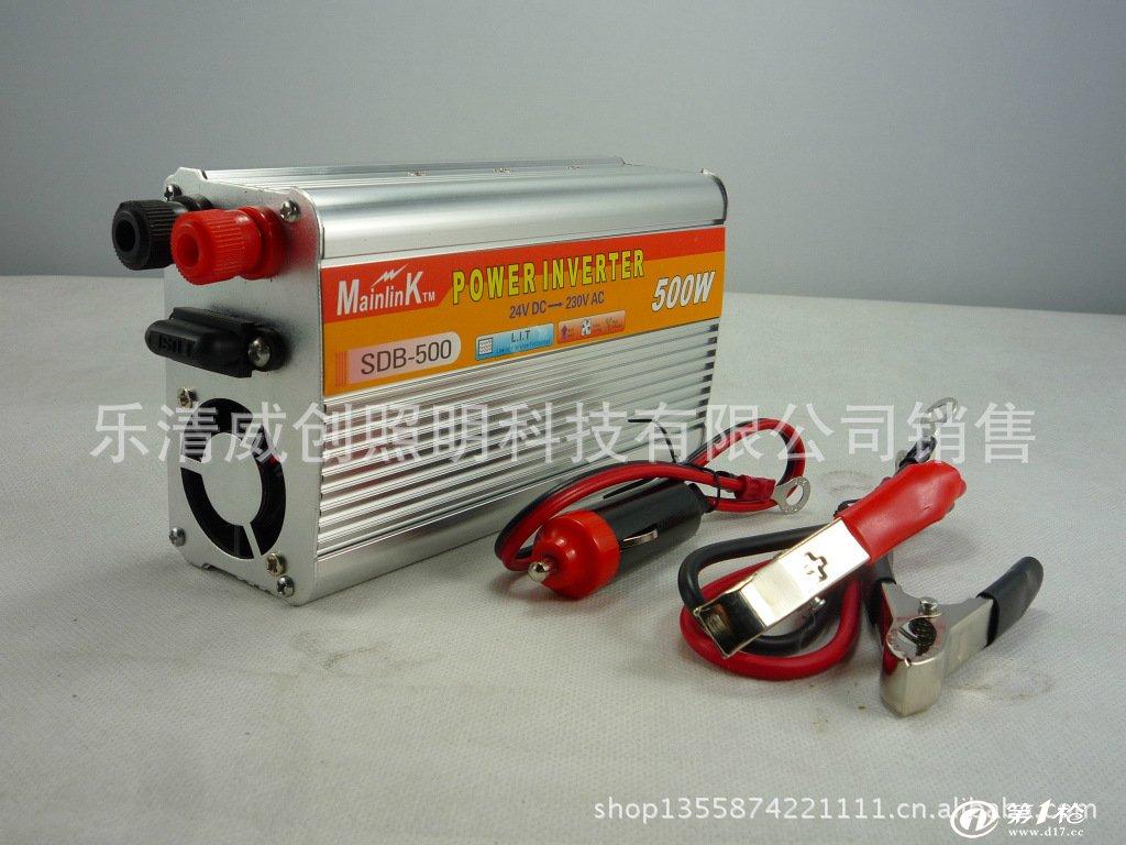 车载逆变器 12v转220v 汽车专用转换应急电源 1000w 100%足功率