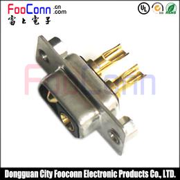供应DB头 大电流 2PIN 粗针焊线连接器D-SUB