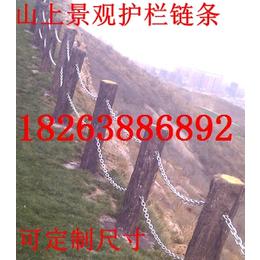 供应全国工程专用护栏链条厂家直销6-38mm