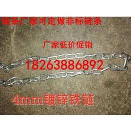 供应上海展厅用6-18mm镀白锌护栏链条.卸扣厂家