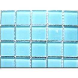 环保无辐射,色调柔和、美观大方、混拼<em>游泳池</em><em>玻璃</em><em>马赛克</em>
