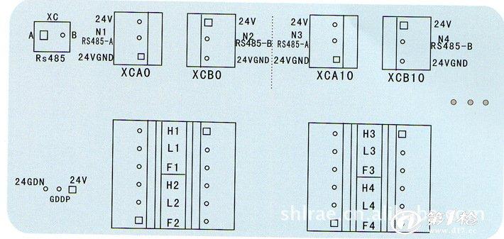 仪表接线图如下