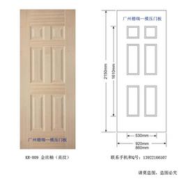 销往广东揭阳复合木门模压门板