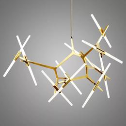 北欧宜家创意个性现代工业风客厅餐厅卧室大气人字树叉设计师吊灯