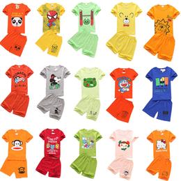 西平县厂家批发童装套装儿童优质服装关爱小孩健康成长的好衣服