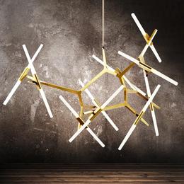 客厅壁灯餐厅艺术壁灯别墅创意人字型树杈壁灯