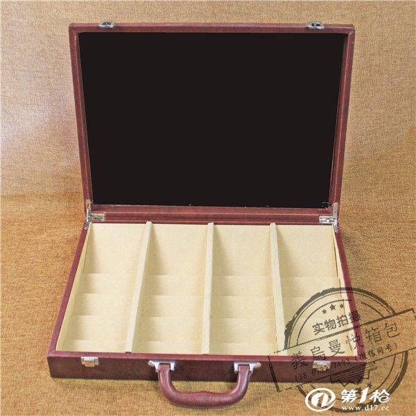 供应木地板包装皮石英石皮盒石材展示盒高档样品展示
